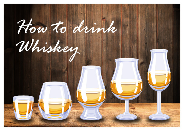 ウイスキーの基本の飲み方を知ろう