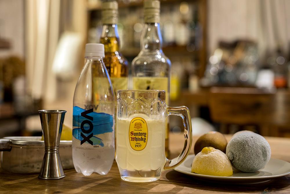 冷凍レモンハイボールを作る材料とレシピ