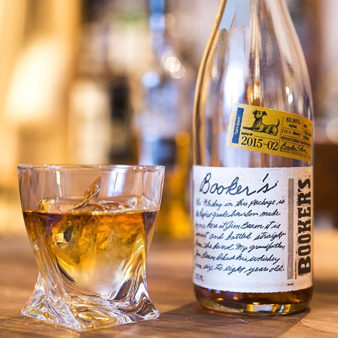 ハーフロックのウイスキー