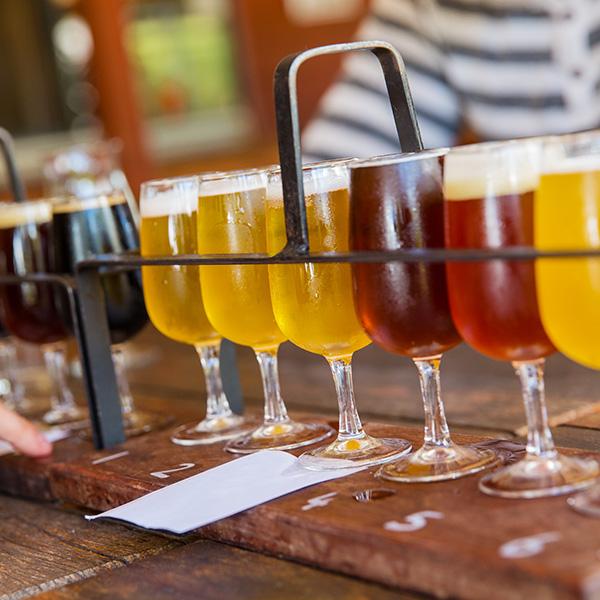 ビール樽のフィニッシュ