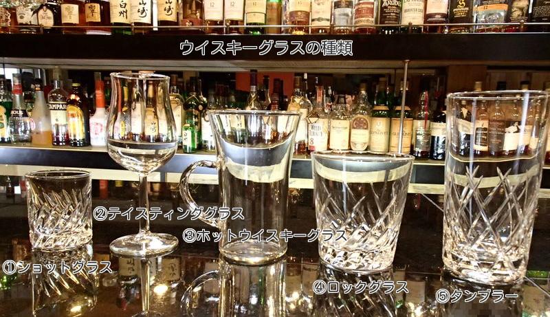 ウイスキーグラスの種類