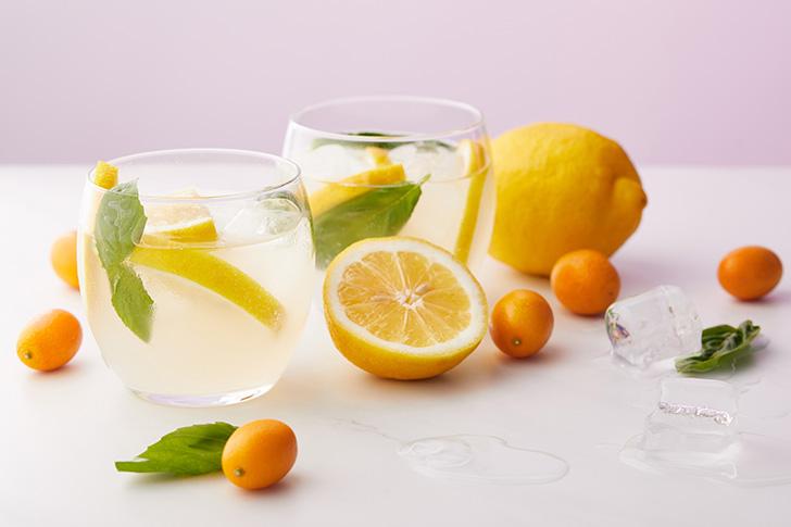 レモンと金柑