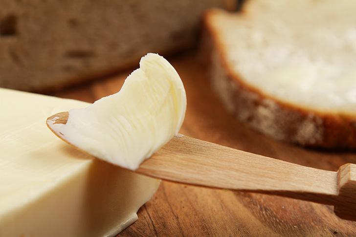 バターをホットウイスキーに