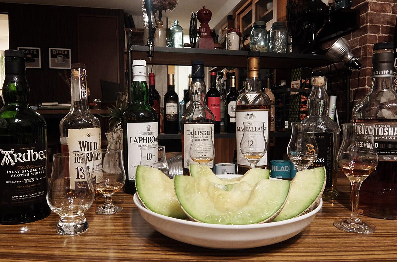 メロンとウイスキーは本当に合うのか実験