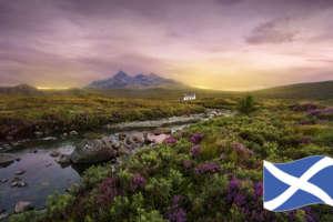スコットランドのスコッチウイスキー