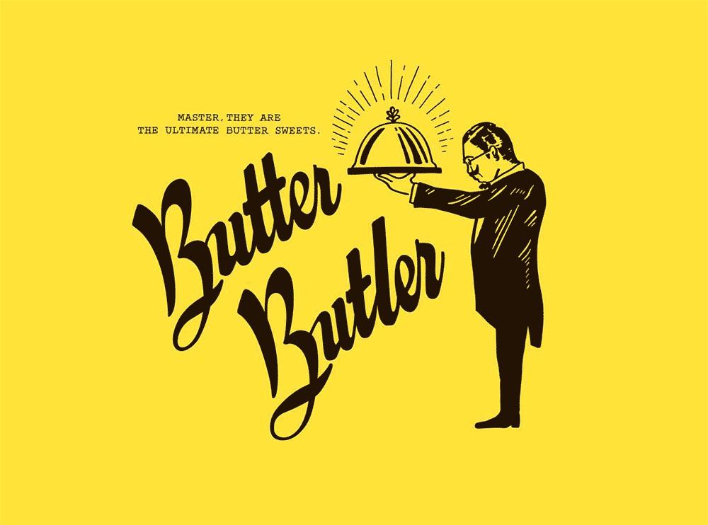バターバトラーのロゴ