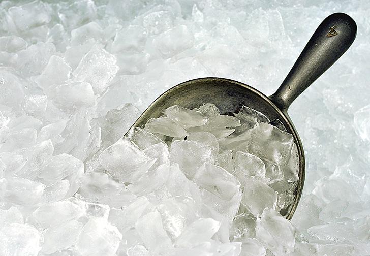 たくさんのクラッシュアイス