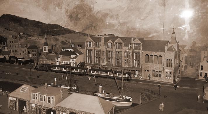 最盛期には30以上の蒸溜所で栄えたキャンベルタウン