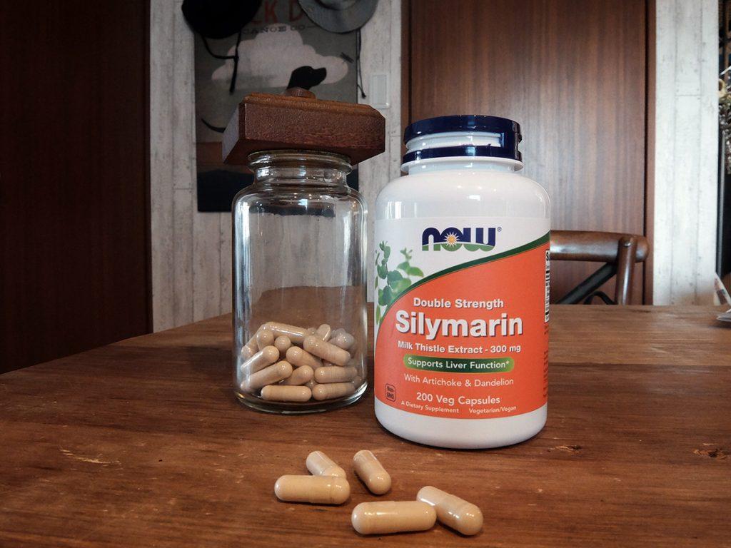 ミルクシスル(別名マリアアザミ)から採れるシリマリンが効く