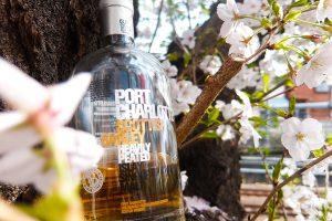 お花見にセレクトするお酒はウイスキー