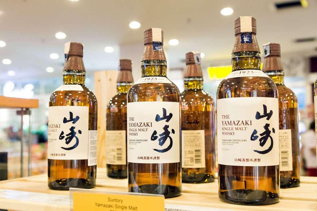 山崎などのジャパニーズウイスキー