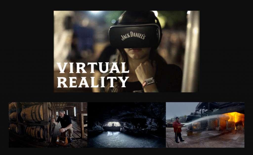 VR(バーチャルリアリティー)で楽しむジャックダニエル