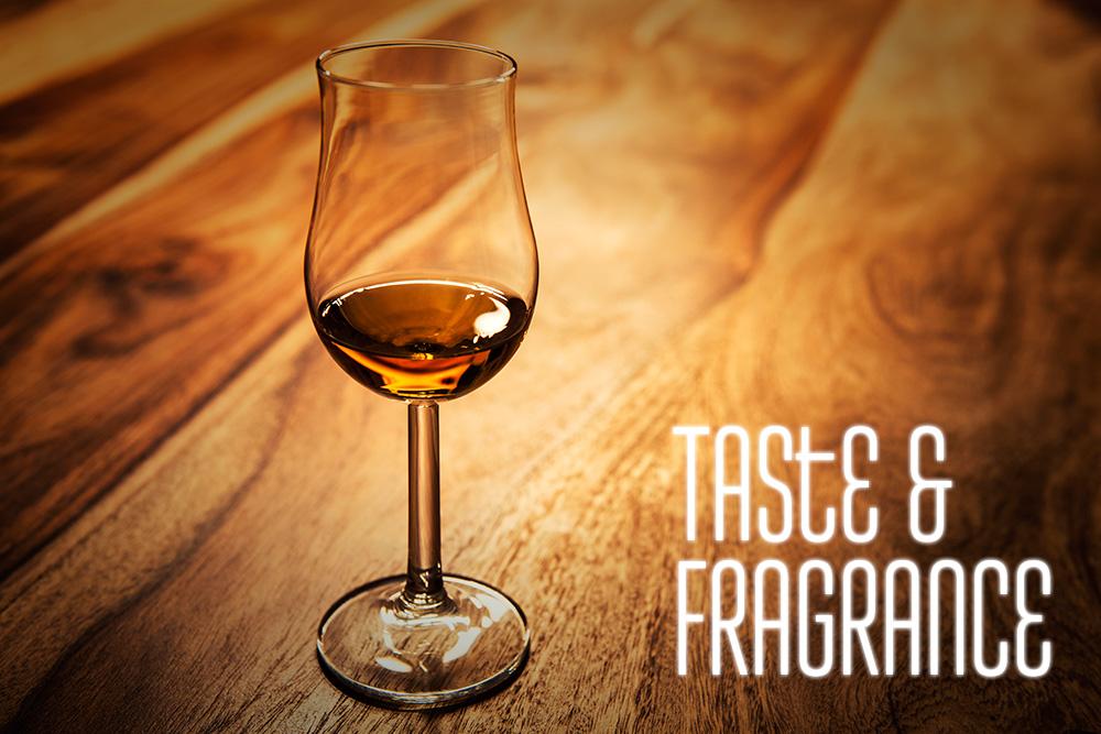 ウイスキーの味と香りはグラスで決まります