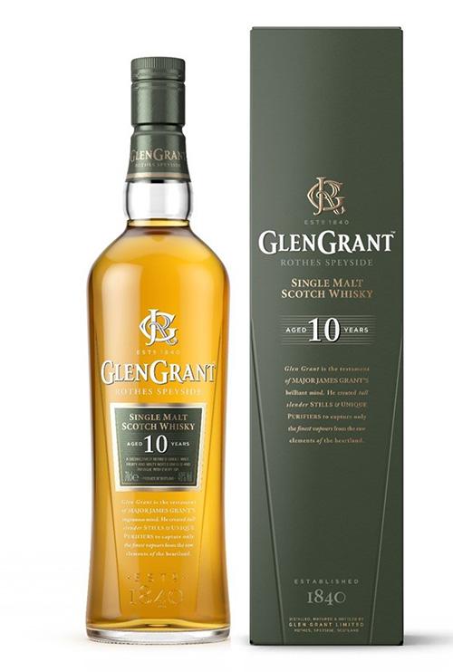 グレングラント10年でウイスキーのお湯割り