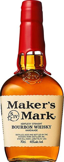 メーカーズマークでウイスキーのお湯割り