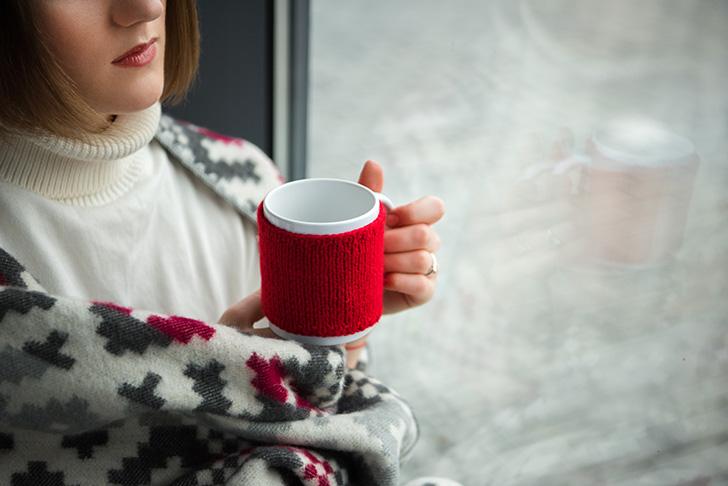 悪寒がした場合は暖めて水分を