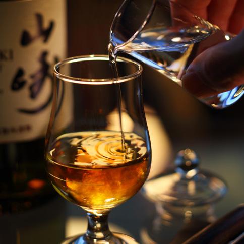 ウイスキーのトワイスアップ