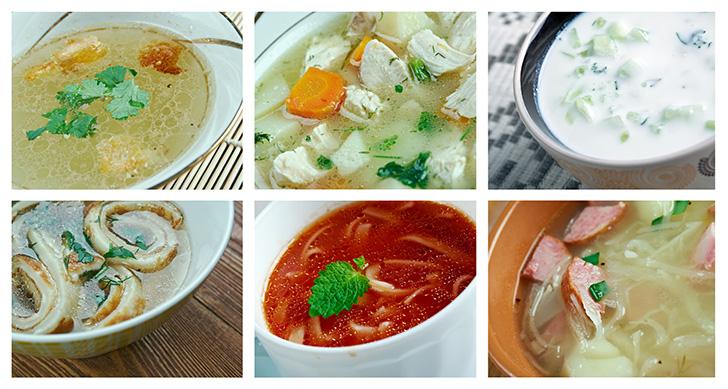 たくさんのスープ