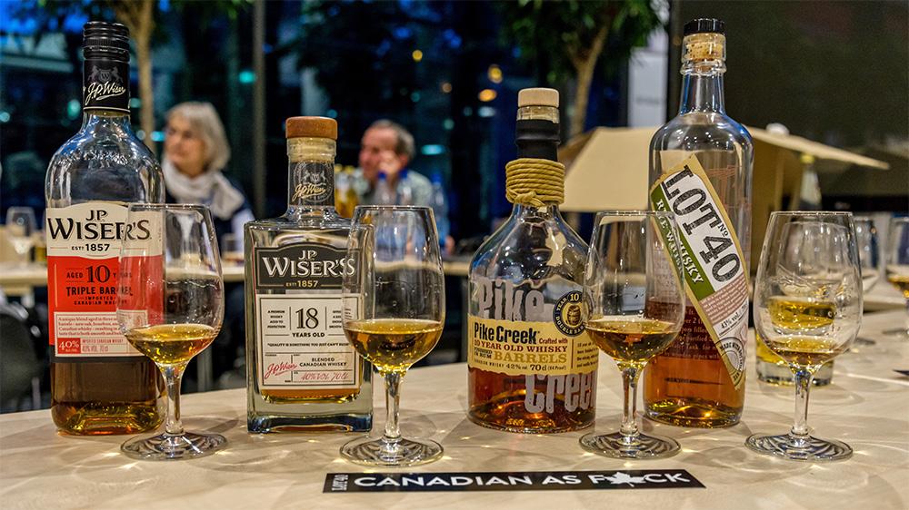カナディアンウイスキーの種類