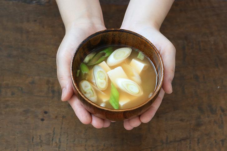 ねぎの味噌汁