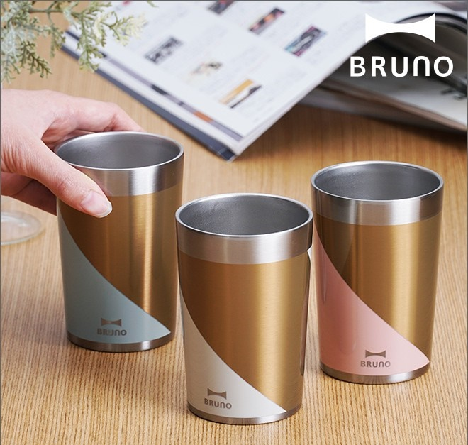 ブルーノ ステンレスカップ