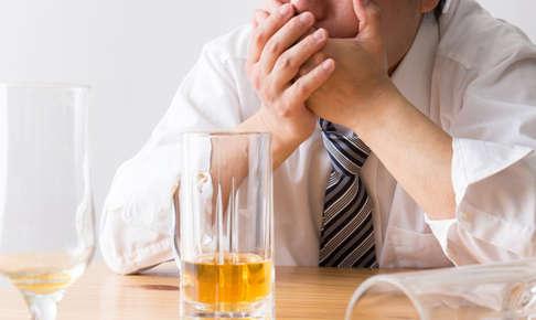 お酒で気持ち悪くなる