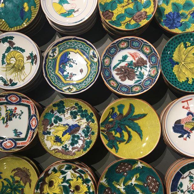 古九谷の皿