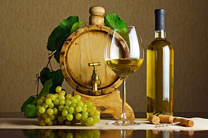 辛口の白ワイン