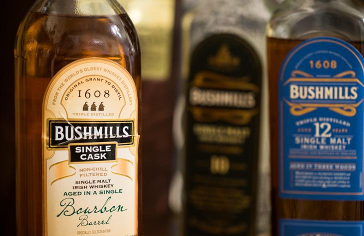 アイリッシュウイスキーブッシュミルズの種類や味、おすすめの飲み方