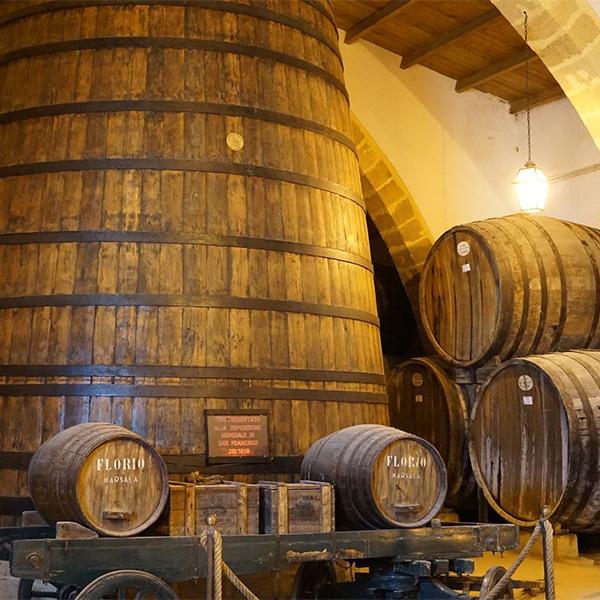 マルサラワイン樽