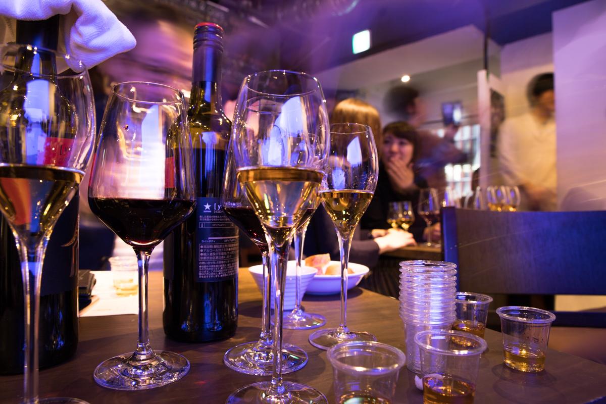 ワインとウイスキーを超音波熟成