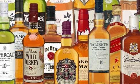 有名ウイスキー/人気ウイスキーの次に飲む銘柄とは?