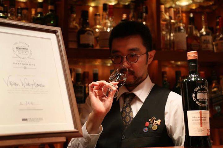 ウイスキープロフェッショナル 小林渉さん