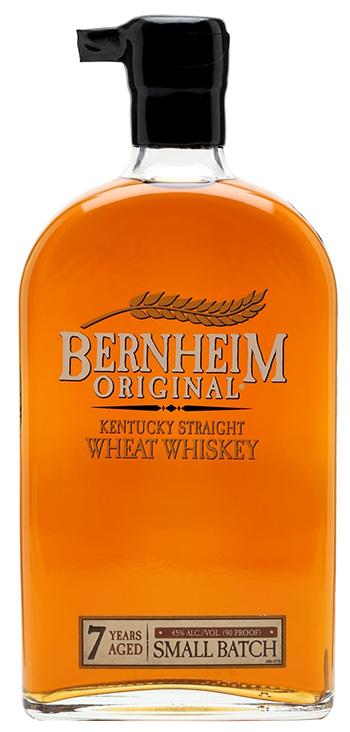 小麦が原料 バーンハイム オリジナル・ウィート・ウイスキー