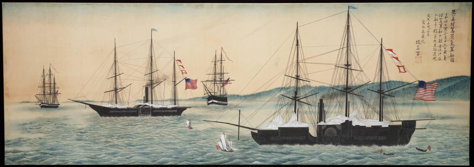 黒船とウイスキー