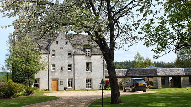 マッカランのイースターエルキーハウスは1700年、ジョン・グラント大佐によって建設
