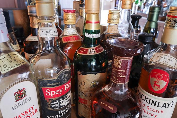 ウイスキーオールドボトル