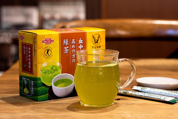 中性脂肪が高めの方の緑茶
