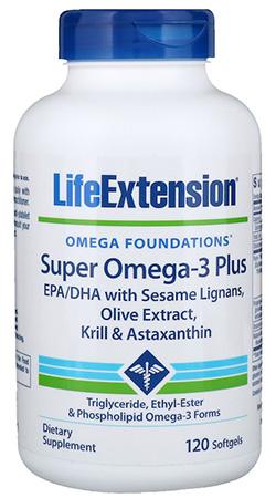 Life Extension オメガファンデーション、スーパーオメガ3プラス