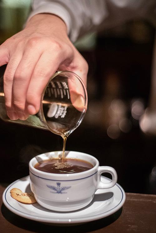 ガレッジの浅煎りコーヒー