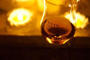 ラガヴーリンのグラス