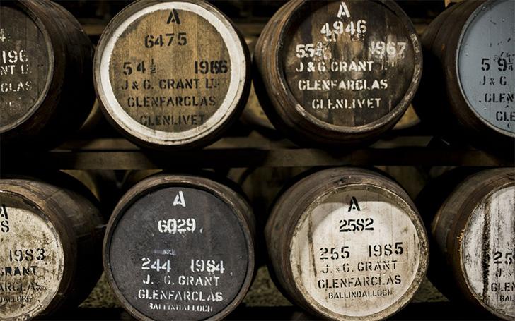 グレンファークラスの樽