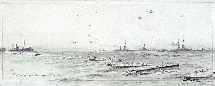 第一次世界大戦のスキャパ湾