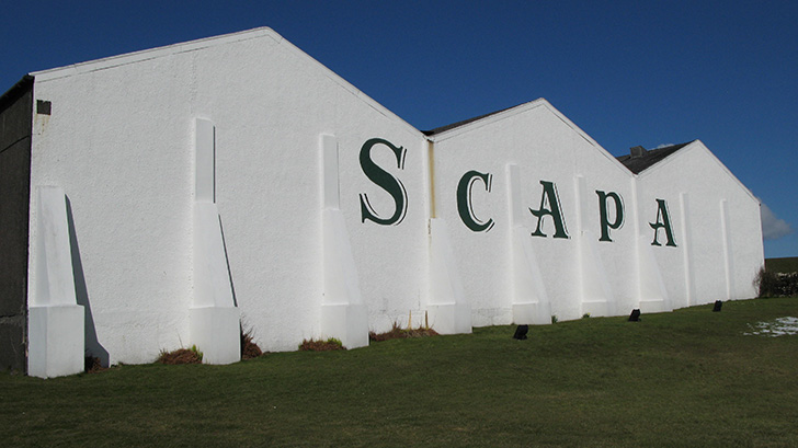 スキャパ蒸溜所