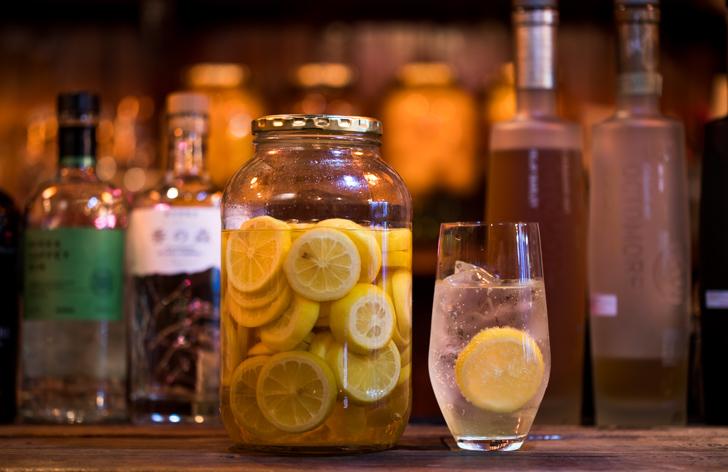 レモンの果実酒
