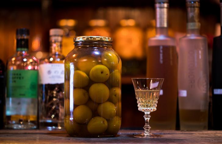 梅の果実酒(梅テキーラ)