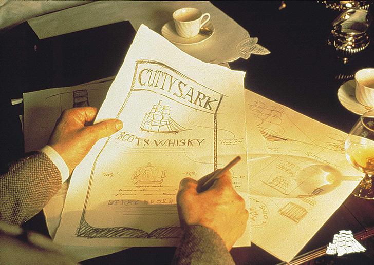ジェームス・マクベイの描くカティサーク号