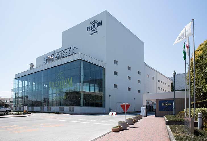 サントリー〈天然水のビール工場〉東京・武蔵野ブルワリー 工場