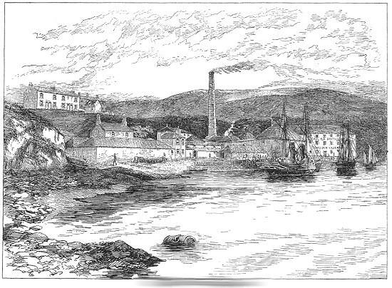 昔のカリラ蒸溜所