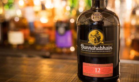 ブナハーブン12年のボトル